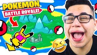 Ich REAGIERE auf POKEMON: Battle Royale! (Fortnite)