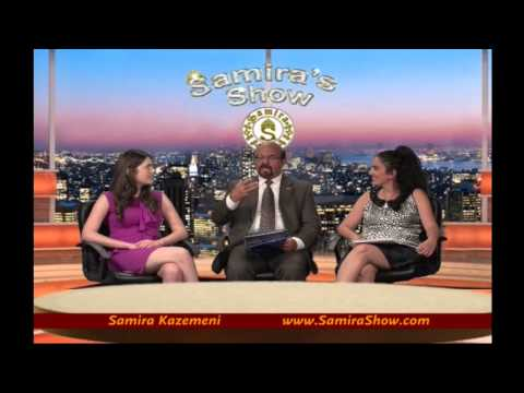 Samira's Show with President of The United Nations in Inland Empire Ike M. I. Khamisani