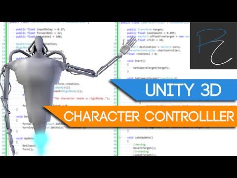 Unity3D Character Controller - Camera Orbit