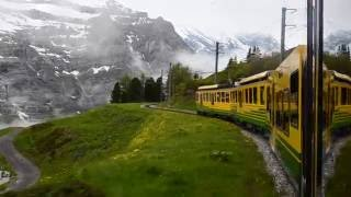Swiss Alps Train Journey to Top of Europe w/ Scenery! Jungfraujoch