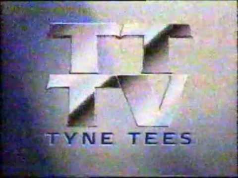 ITV Tyne Tees ID - received mid 1990