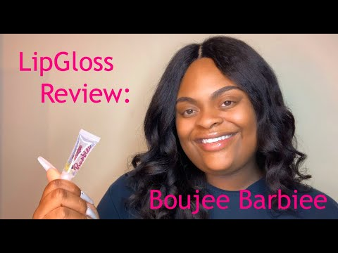 EP. 1: REVIEWING BOUJEE BARBIEE'S LIP GLOSS| IS IT WORTH BUYING?| SUPPORTING SMA