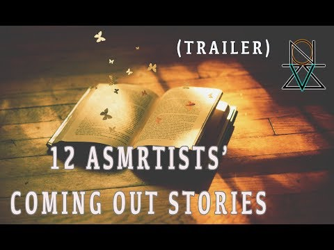 Amazing Collab Interview | My Coming Out Story Trailer ft.12 Asmrtists | VIZZION ASMR