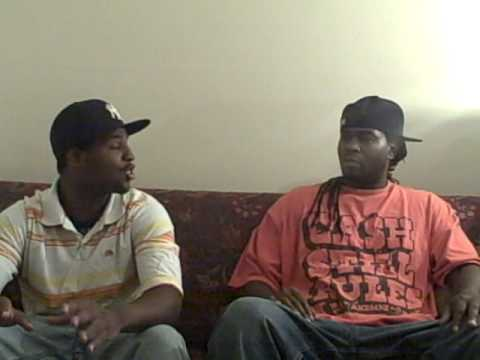 Trouble Ave interview in the LIVING ROOM.