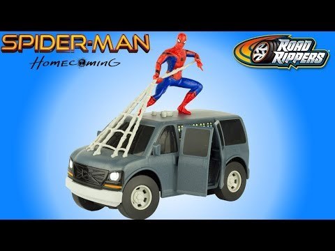 Hero Rider Homecoming Jouet Electrique Spider Man Review Voiture Toy edBoxWQrC