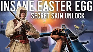 The Most INSANE Battlefield Easter Egg ever! ( Secret Skin Unlock )