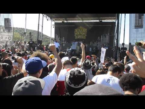WC - The Steets/ The Gangsta The Killa and The Dope Dealer (live) Paid Dues 2013