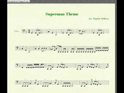 Superman Tuba Solo