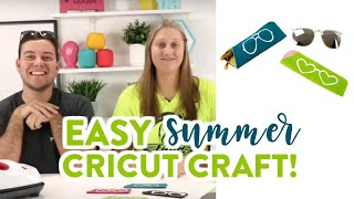 EASY SUMMER CRICUT CRAFT!