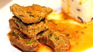 Говядина в соусе карри   Готовим Вкусно и Красиво Ternera guisada al curry thai