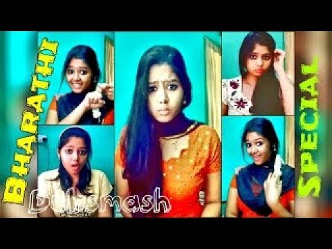 Tamil cute girl bharathi nazriya dubsmash...