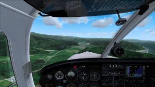 MegaSceneryEarth 2.0 California (FSX) - Approach to Andy Mc Beth Airport (S51) - Official HD Video