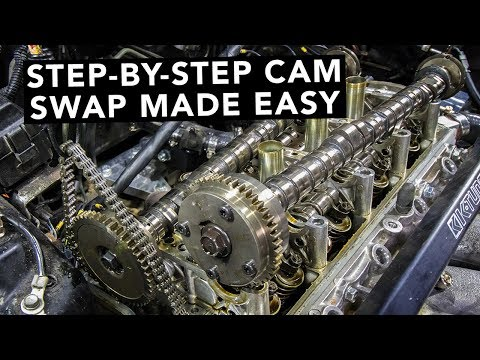 How To Swap Honda K20 K24 K-Series Camshafts