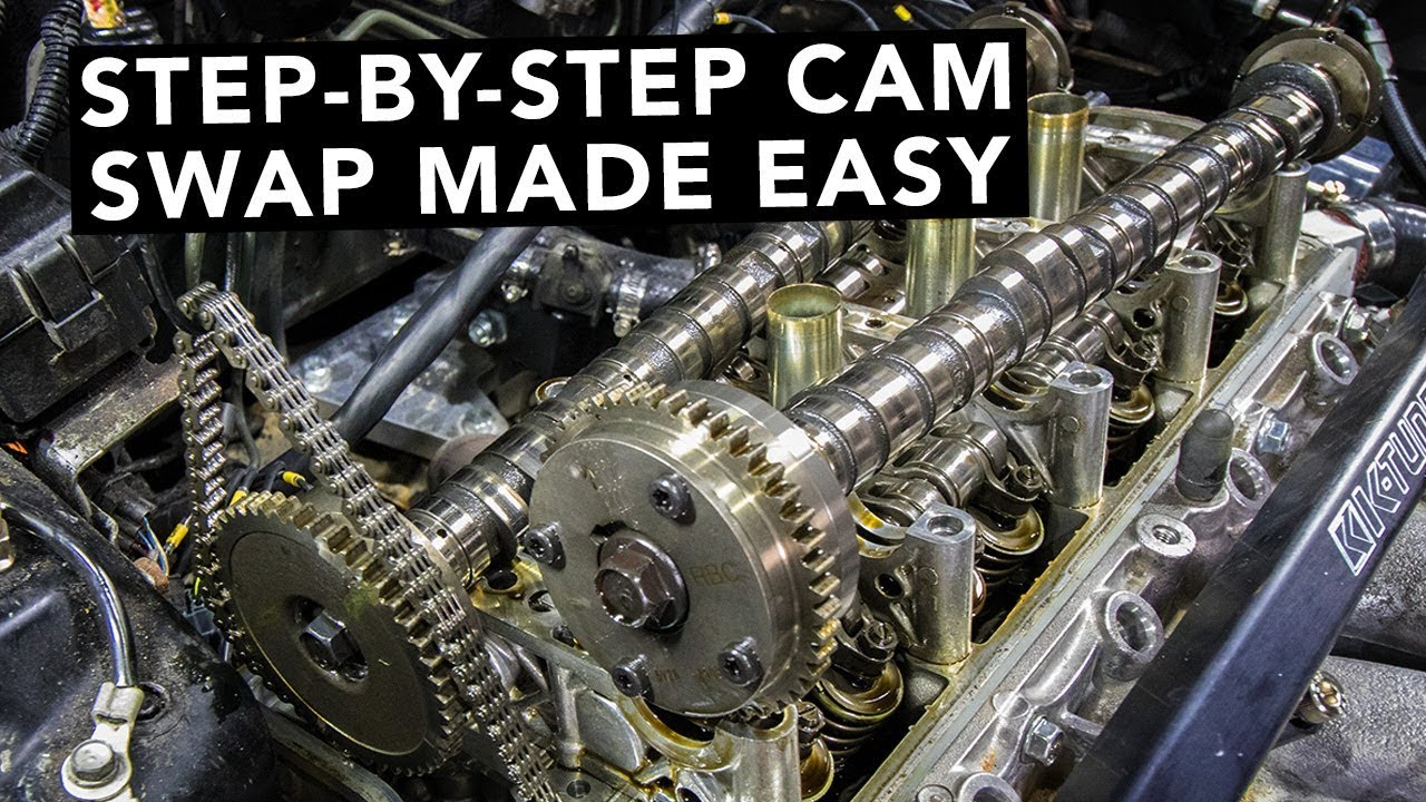hight resolution of how to swap honda k20 k24 k series camshafts