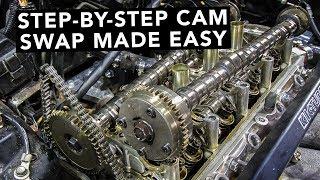 How To Swap Honda K20 K24 K-Series Camshafts