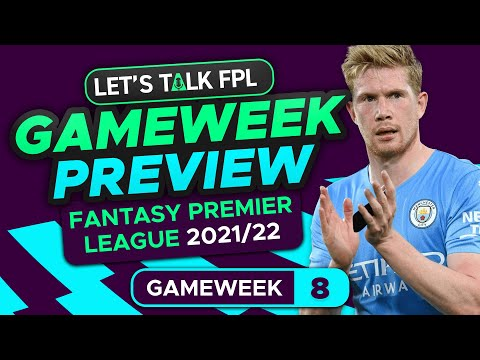 FPL GAMEWEEK 8 PREVIEW   WHICH MAN CITY ATTACKER?   FANTASY PREMIER LEAGUE 2021/22 TIPS