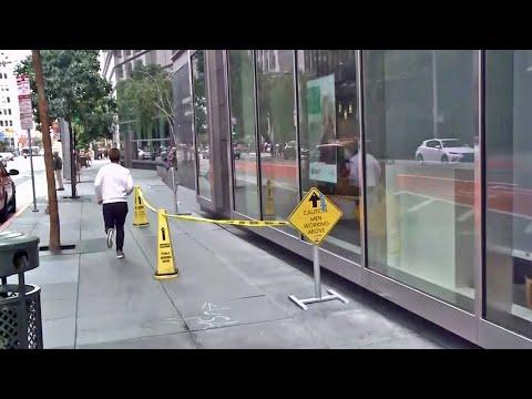 Sinking Skyscraper in Downtown SF Develops Cracked Window