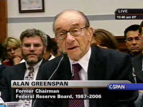 Waxman to Greenspan: Were You Wrong?