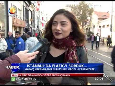 Kanal Fırat Haber - İstanbul'da Elazığ'ı Sorduk