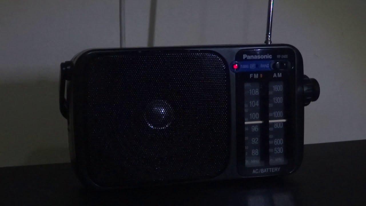 Radioreceiver Panasonic RF 2400 (Germany) - YouTube 423e993d078
