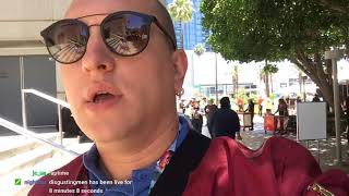 E3 2018: второй день выставки. Внутри E3. Посмотрел Cyberpunk и игры Kalypso