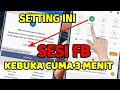 - Cara buka FB ke SESI yang baru 2020
