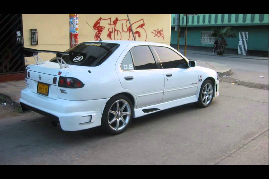nissan sentra b14 tuning cars youtube. Black Bedroom Furniture Sets. Home Design Ideas