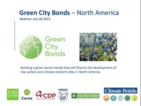 US Green City Bonds Webinar