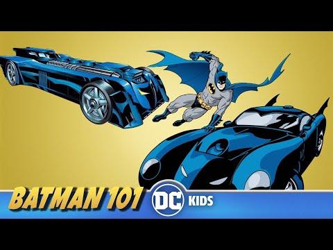 Batmobile Fun Facts   Batman 101   DC Kids