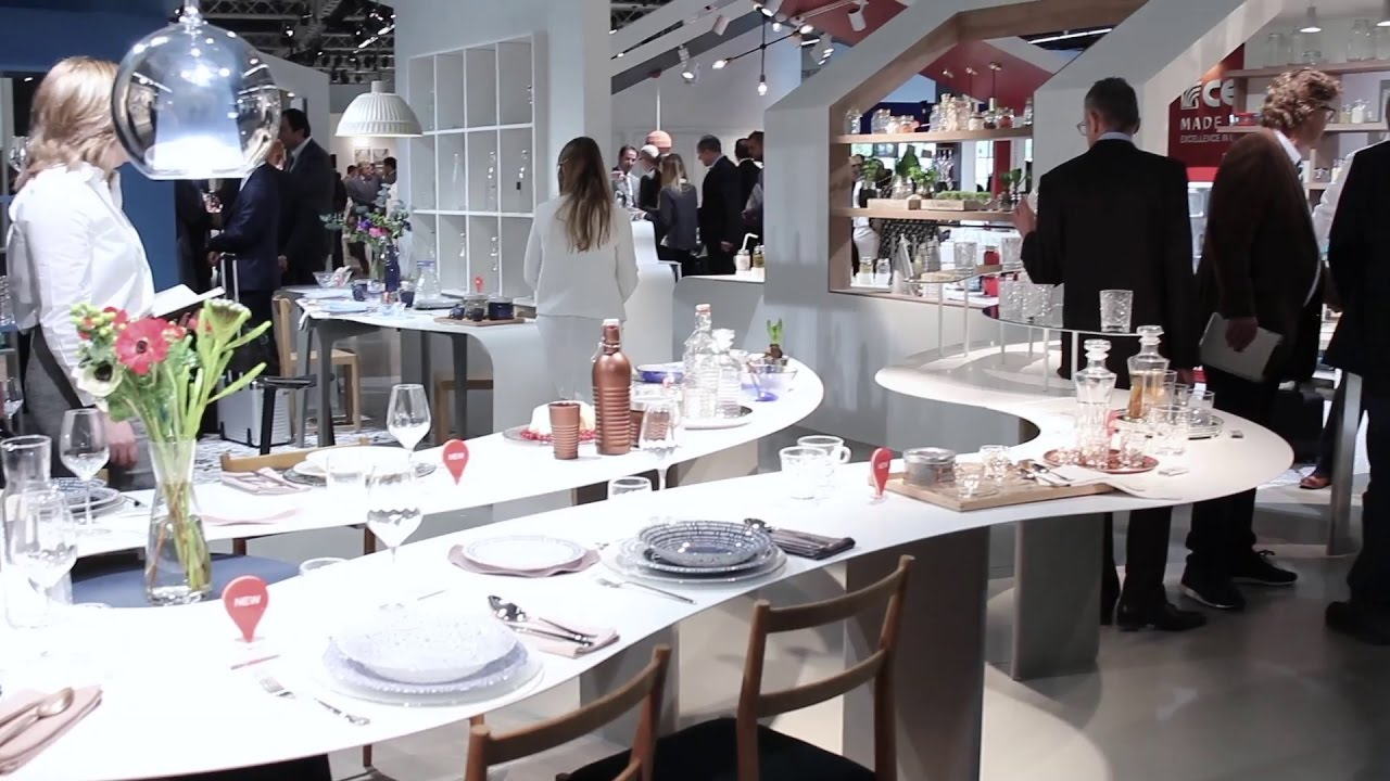 bormioli rocco tableware at ambiente 2017 frankfurt youtube. Black Bedroom Furniture Sets. Home Design Ideas