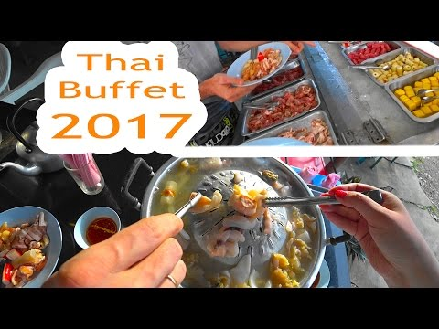 Thai Buffet. Варим суп.
