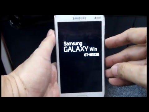 ลืมรหัสผ่าน เครื่องล็อค hard reset ซัมซุงวิน  Samsung GALAXY Win GT-I8552B