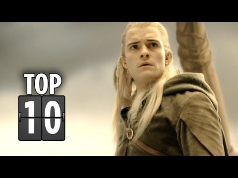 Top Ten MIddle-Earth Moments - Lord Of The Rings HD