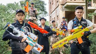 LTT Game Nerf War : Warriors SEAL X Nerf Guns Fight Braum Crazy Stolen Tanks Help The Squad