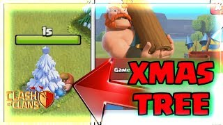 REMOVING XMAS TREE in Clash Of Clans | NEW UPDATE CLAN GAMES LEAKED CoC Winter Christmas 2017