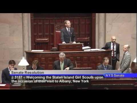 New York State Senate Session - 05/20/14