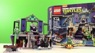 Lego Teenage Mutant Ninja Turtles Shredder's Lair Rescue : Lego 79122