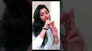 Priya prakash varier new video