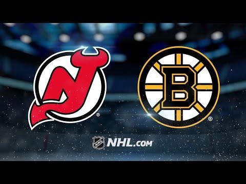 NHL Game Highlights| Boston Bruins vs New Jersey Devils| 01/2021