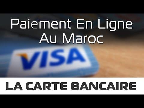 Paiement en Ligne - Carte Bancaire Internationale au Maroc