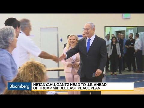 Netanyahu Says He Will 'Make History' With Trump in U.S. Visit