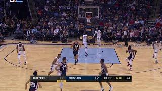 1st Quarter, One Box Video: Memphis Grizzlies vs. LA Clippers