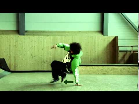GORILLA Breakdance - 3-Step (8) D
