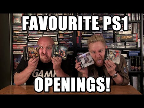 FAVOURITE PS1 OPENINGS - Happy Console Gamer