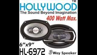 Hollywood car speakers, tweeters, amplifier, woofers - DELHI India, car audio entertainment system