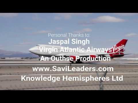SaviLeaders Episode 3 with  Jaspal Singh, Pilot Virgin Atlantic Airways