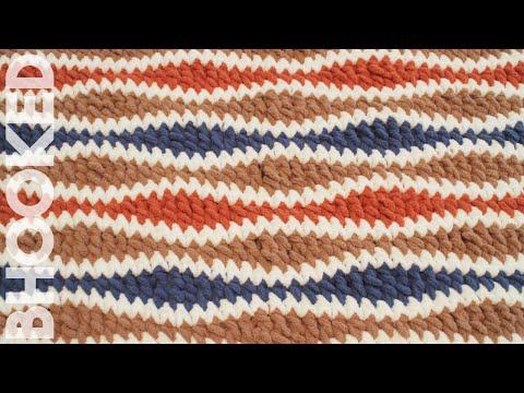 The Crochet Wavelength Stitch