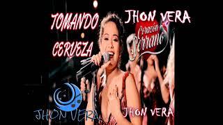 Tomando Cerveza Corazon Serrano karaoke pista full gratis