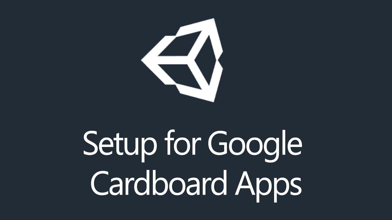 1b4e10c61cc9 Tutorial  Unity3d - Setup for Google Cardboard Virtual Reality - YouTube