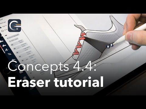 how-to-draw-a-shoe-using-concepts-app-on-ipad